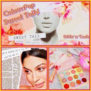 ColourPop Sweet Talk Shadow Palette BRAND NEW!